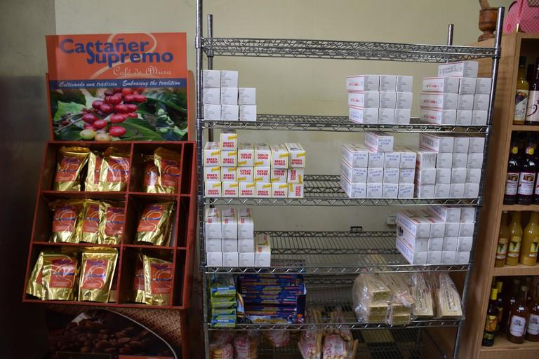 Coffee and pastry at Brazo Gitano Franco