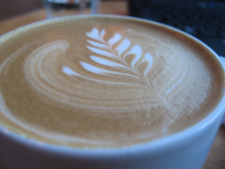 Enjoy a café con leche with your pastry