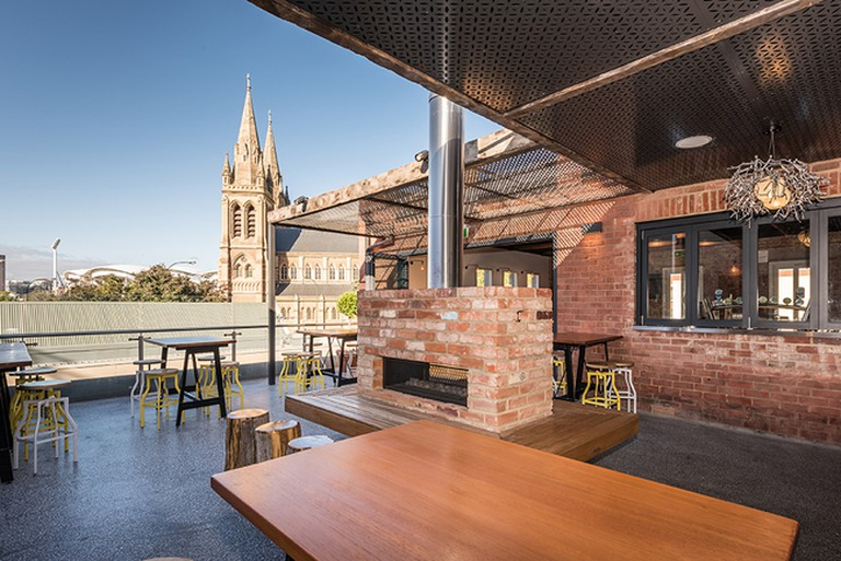 The Cathedral Hotel rooftop