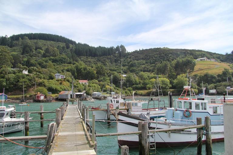 Fishing Boats at Carey's Bay