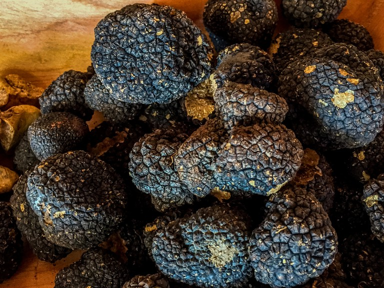The most important ingredient: truffles