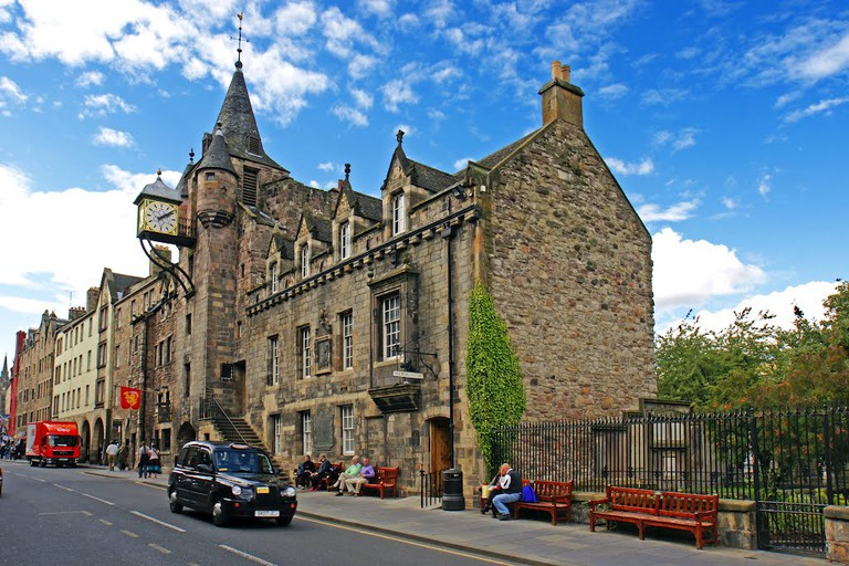 Canongate Tolbooth on the Royal Mile