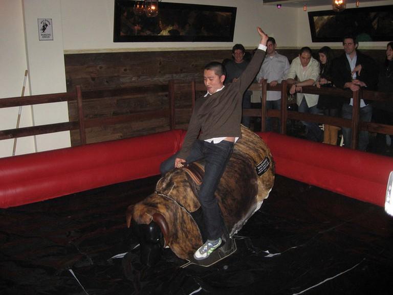 Mechanical Bull Antics