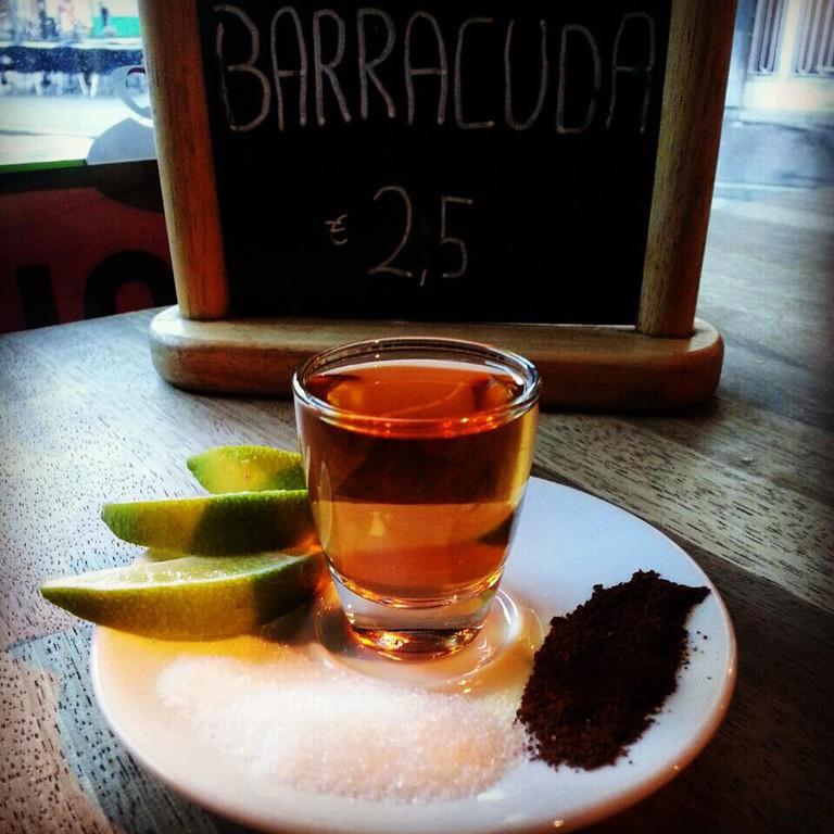 The house shot at Barracuda