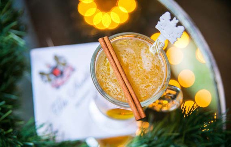 The Carousel Bar's Hot Spiced Pear,