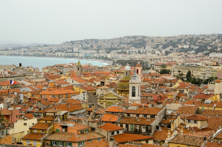 There are some wonderful places to go for panoramic views in Nice, both of the town and the Mediterranean coastline