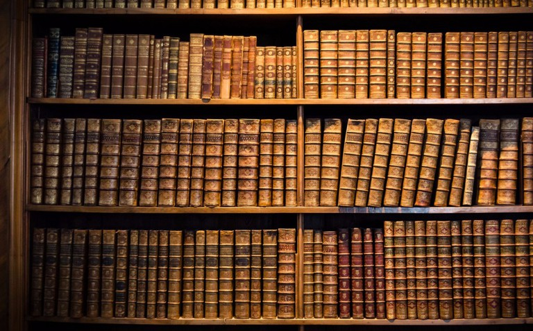 Browse through the historical collection at the library inside Vienna's city hall