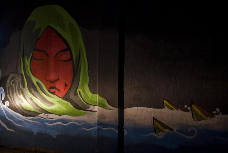 Street Art At Ratna Park