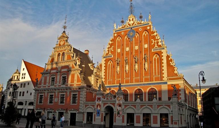 Riga Schwarzhäupterhaus
