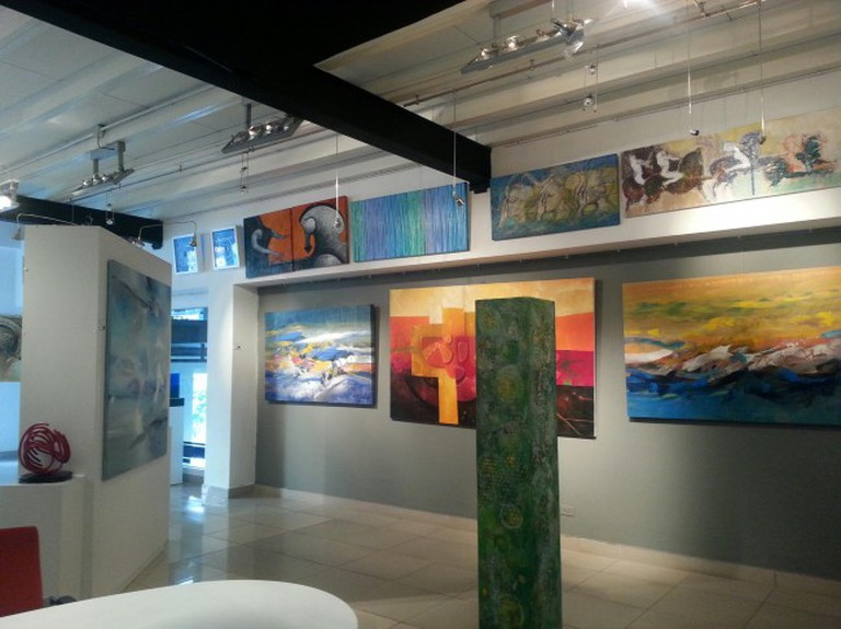 Inside A Priori Gallery