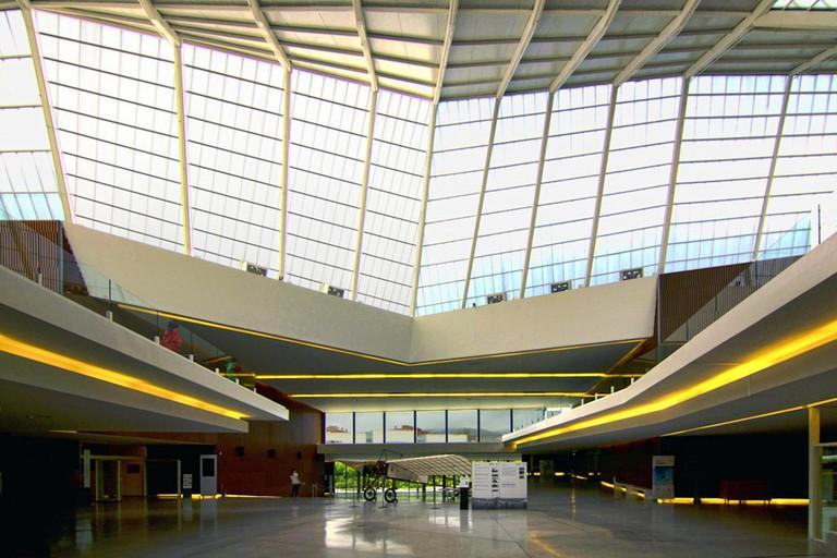 A futuristic modern space in Granada's Science Museum