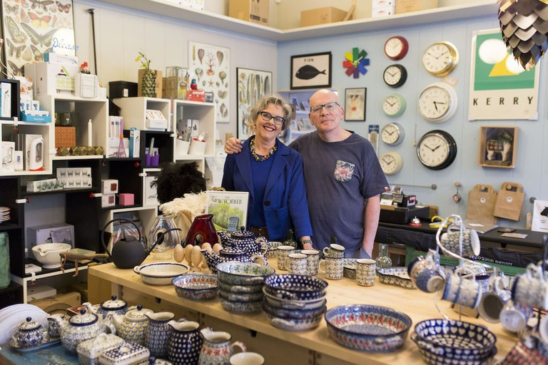 Owners of The Old Mill Stores, Tom Keane and Claire Graham