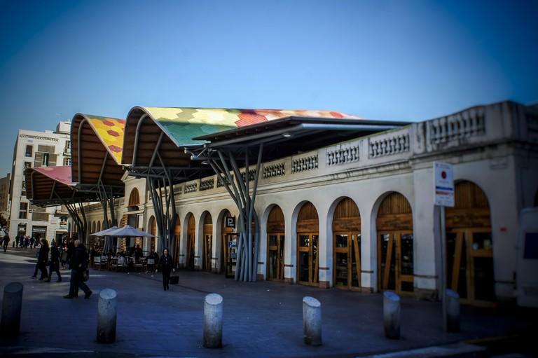 The Santa Caterina market