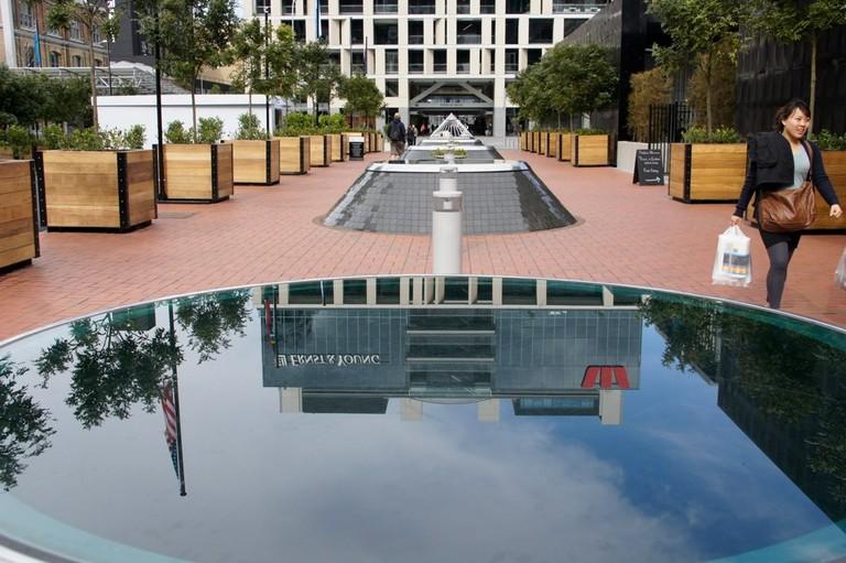Auckland's Britomart Pavilion