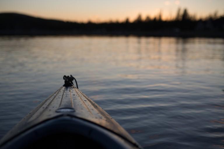 Explore by canoe