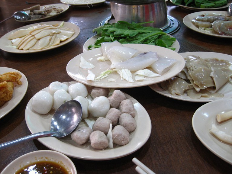 Steamboat dishes