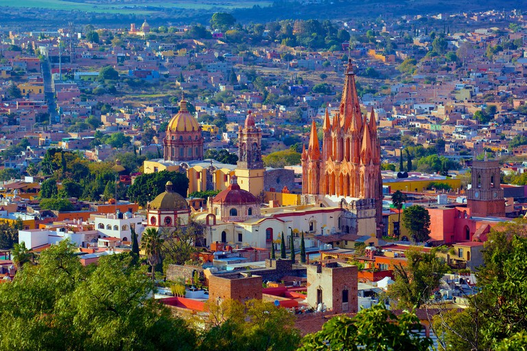 What better place to enjoy some wine than in beautiful San Miguel de Allende?