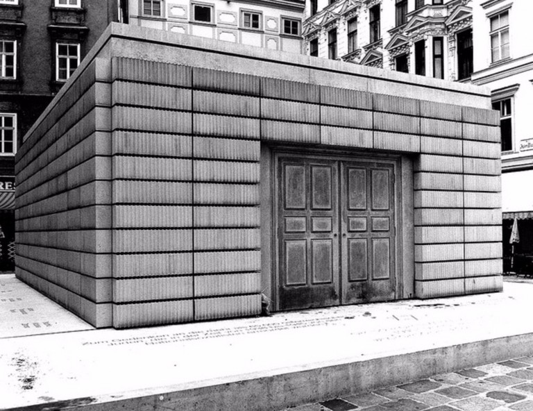 Rachel Whiteread's Holocaust Memorial