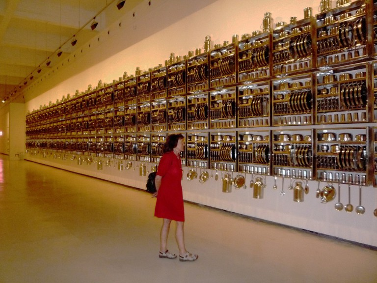 Puzzling installations at Malaga´s CAC museum; Martin Haisch, flickr