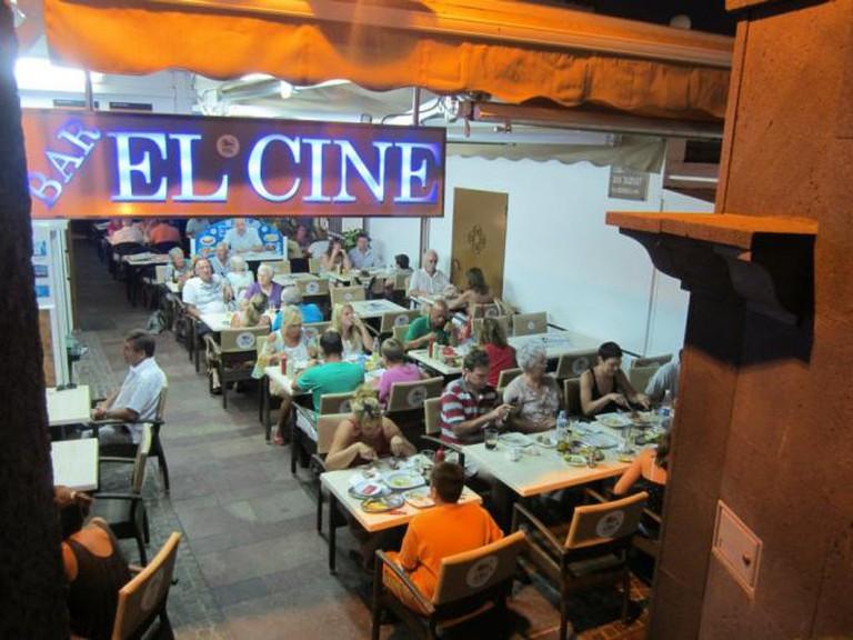Bar Restaurante El Cine, Los Cristianos