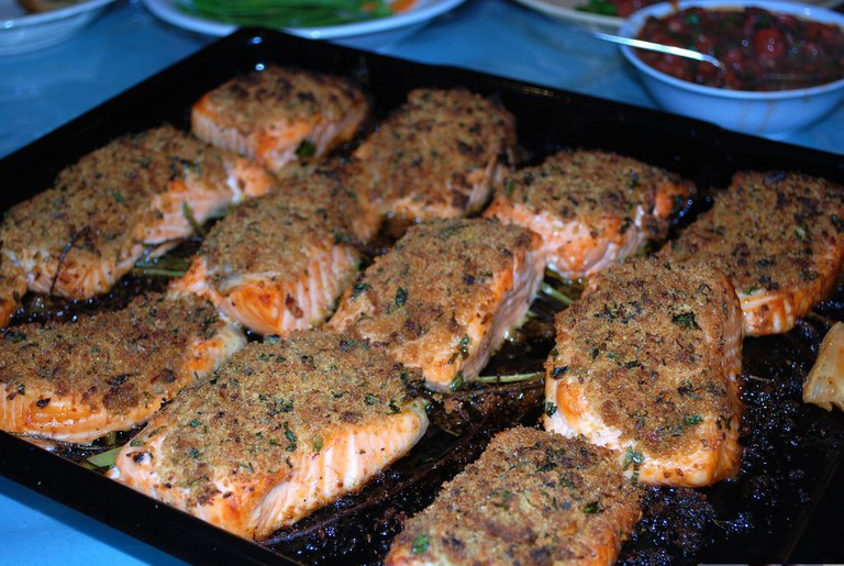 Baked Salmo