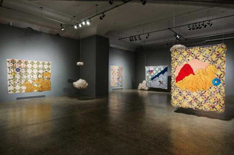 Sanford Biggers, Codex, Installation View, VCUarts Anderson Gallery