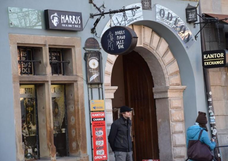 Harris Piano Jazz Bar in Krakow