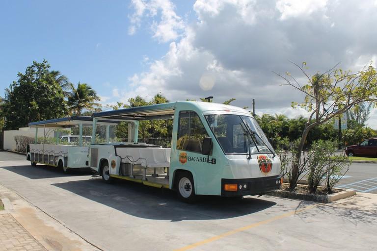 Casa Bacardi tour trolley
