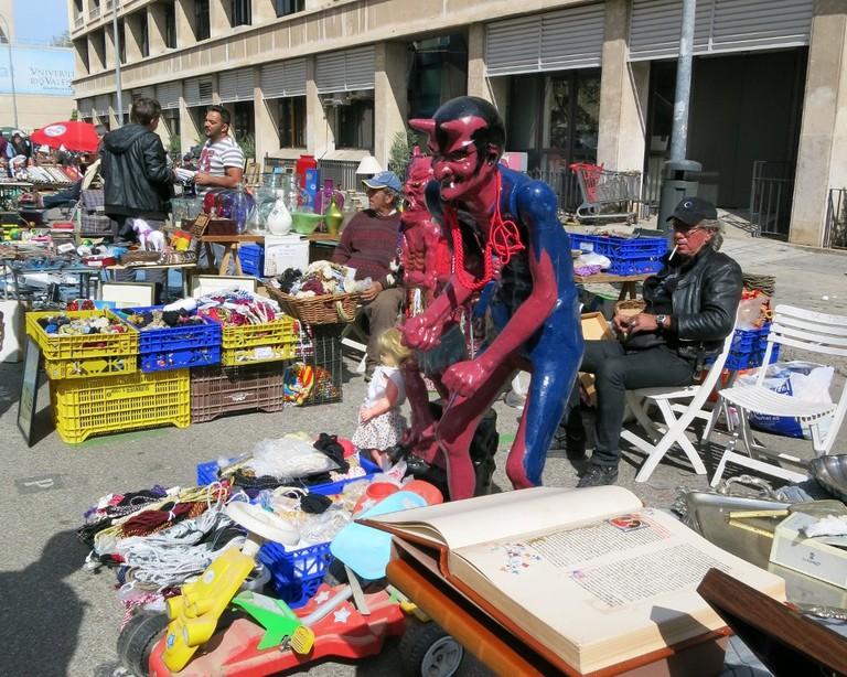 Second-hand market in Valencia