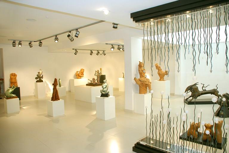 Installation at Aakriti Gallery