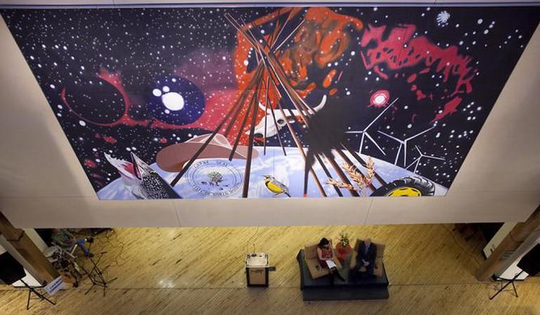 James Rosenquist at the Plains Art Museum