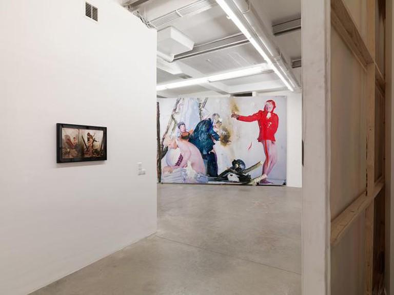 Van de Weghe Gallery interior