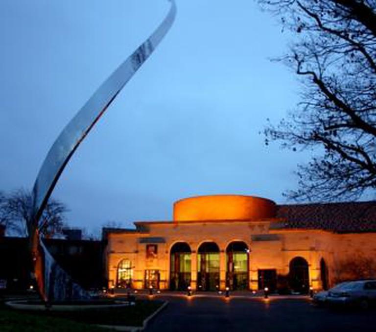 The exterior of the Dayton Art Institute, Dayton, Ohio