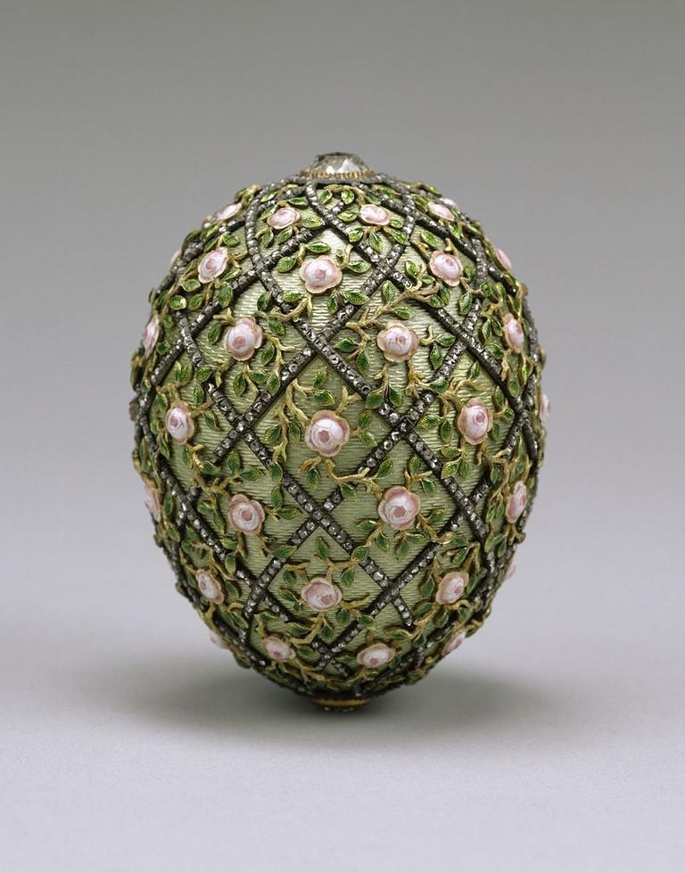 Rose Trellis Egg
