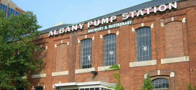Albany Pump Station exterior