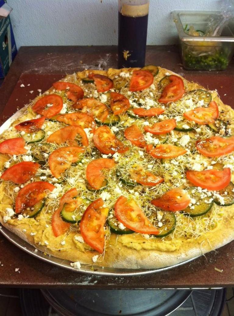Alfalfa and Omega Pizza