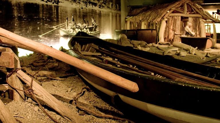 New Zealand Maritime Museum Exhibit