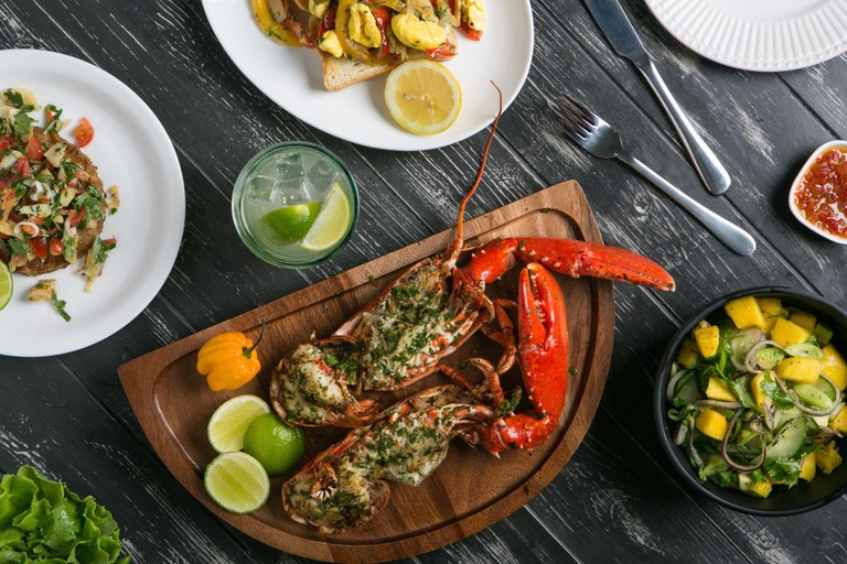 Fresh Grilled Lobster