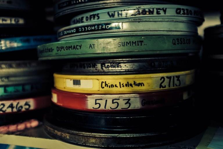 Vintage Movie Reels