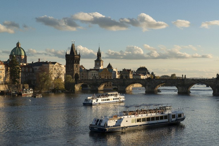Vltava River and Charles Bridge, Prague