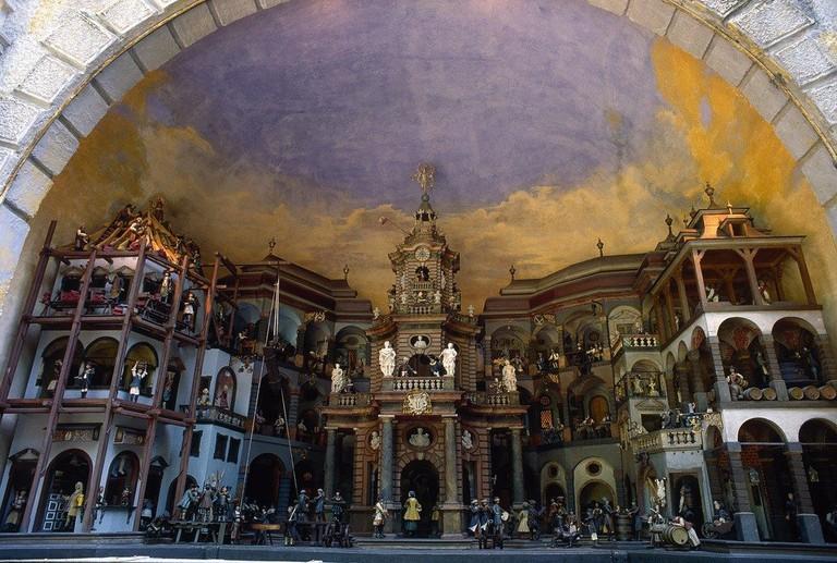 """""""Mechanical Theater"""" Hellbrunn Palace / Salzburg"""