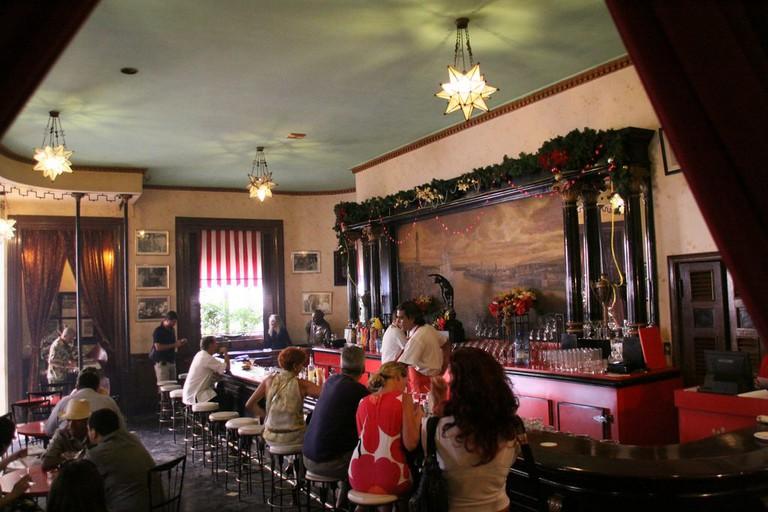 Hemingway's favorite bar, El Floridita