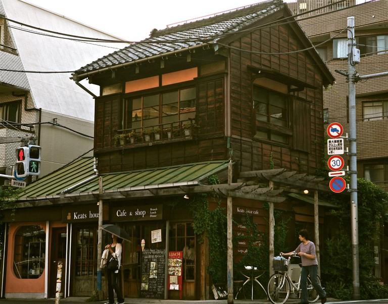 Cafe Keats in Yutenji, Meguro