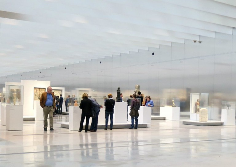 The Time Gallery at the Louvre Lens