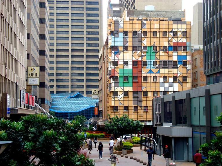 Motsepe Architects heads many city rejuvenation projects in Johannesburg