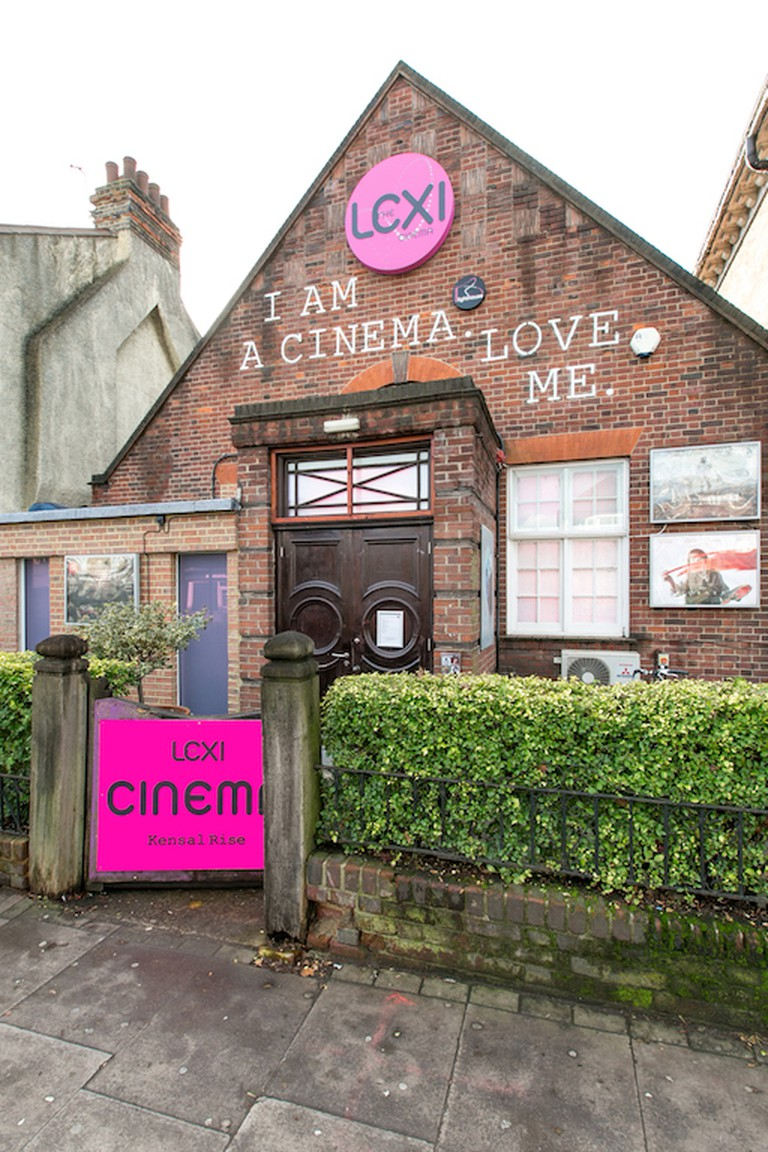 The front of the Lexi Cinema
