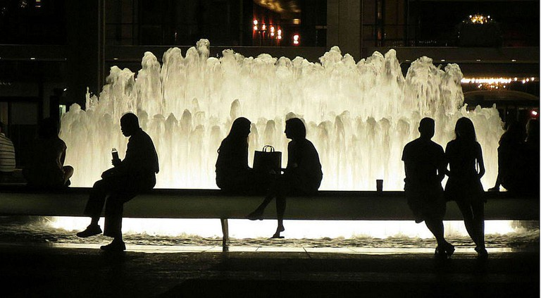 Revson Fountain at Lincoln Center