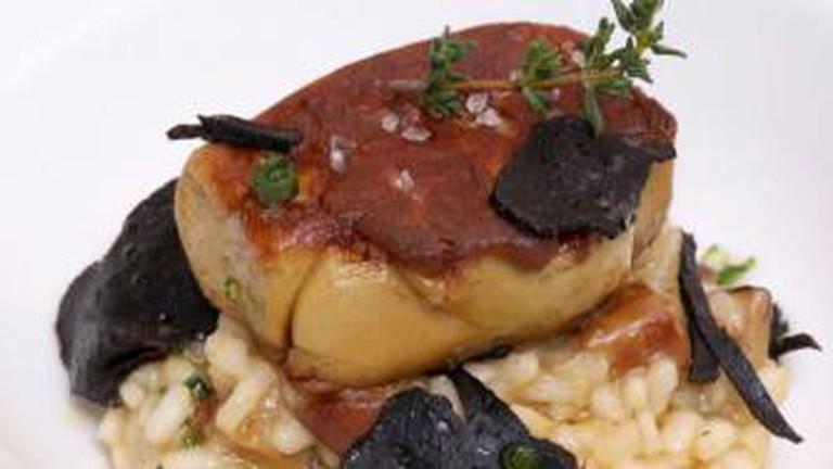 A signature dish at Le Vendôme