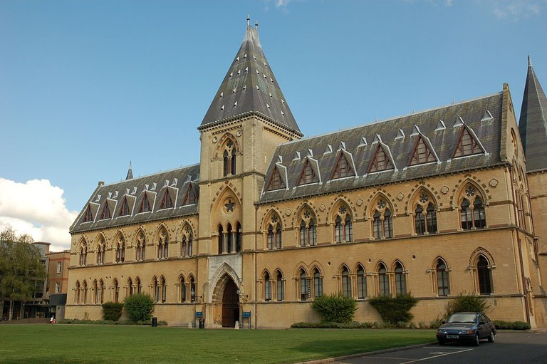 Oxford University's Museum of Natural History