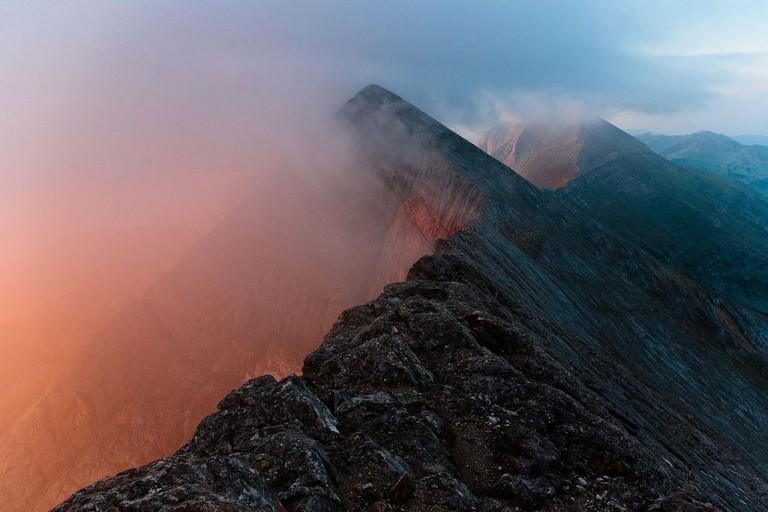 Koncheto Ridge in Pirin National Park